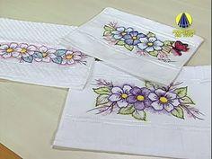Pintura em tecido com caneta Acrilpen - Artesanato - Acrilex - YouTube
