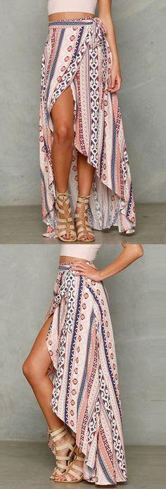 Summer Sexy Ladies Women Boho Long Maxi evening party skirt Beach Dress Sundress