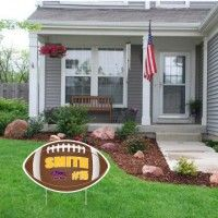 Football Team Yard and Fence Player Signs
