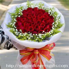 beautiful flowers to Saigon