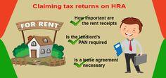 Claiming Tax Rebate on HRA. #tax  #taxrebate  #taxes  hra More info @ http://moneydial.com/claiming-tax-rebate-on-hra/