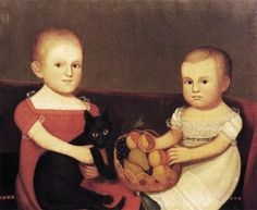 Attributed to Zedekiah Belknap (EE.UU., 1781-1858). The Farley Children.