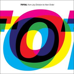 Design studio ParrisWakefield have designed a new art work cover for compilation CD of the bands Joy Division and New Order, titled 'TOTAL'.