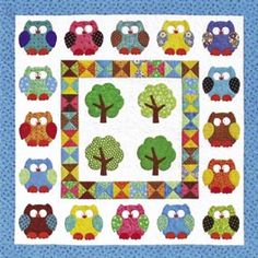 Hooterville quilt pattern - hooters!!