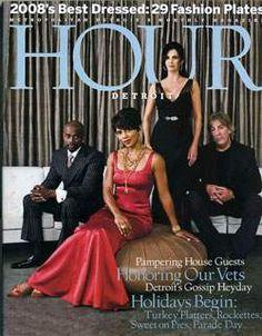 Rhonda Walker on the cover of Hour Detroit.