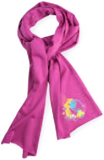 Custom Embroidered Promotional Scarves in Toronto   Montreal 28a907677
