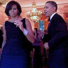 President Barack Obama and First Lady Michelle Obama dancing together during the Governors Ball in the East Room of the White House, Feb. Michelle Obama, First Black President, Mr President, Joe Biden, Obama Dancing, Spiderman, Presidente Obama, Barack Obama Family, Malia Obama