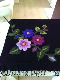 Nuno Felting, Needle Felting, Diy Clothing, Fabric Painting, Kara, Ravelry, Wool, Crochet, Design