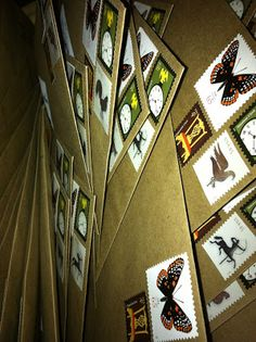 "wedding envelope ""vintage"" stamp collection"