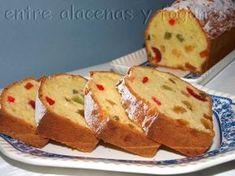 cake de frutas confitadas