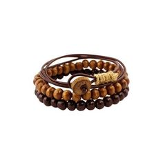 NOVICA Men's Bracelets Two Beaded and One Wrap (set of 3) ($28) ❤ liked on Polyvore featuring men's fashion, men's jewelry, men's bracelets, bracelets, jewelry, leather, wrap, mens wrap bracelet, mens leather bracelets and mens leather wrap bracelets