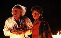 """In the first Back to the Future, a 1985 film directed by Robert Zemeckis and produced by Steven Spielberg, Dr. Emmet Brown (Christopher Lloyd) says to Marty McFly (Michael J. Fox):    """"Roads? Where we're going we don't need roads."""""""