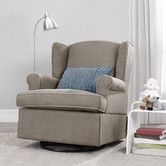 Found it at Wayfair - Baby Relax Swivel Glider Place for your head while gliding Best nursery chairs $$ good