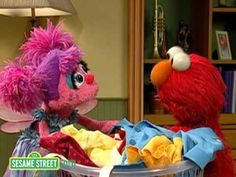 It's been a very chilly week across much of the US - you can watch this video starring Elmo and Abby with kids to show them that they can have fun, even when they aren't able to go outside to play!