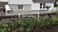 Puutarhauudistukset, puutarhakonsultointi, uudistussuunnitelmat Garden Design, Patio, Cook, Outdoor Decor, Recipes, Home Decor, Decoration Home, Room Decor, Recipies
