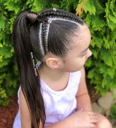 La imagen puede contener: una o varias personas, exterior y primer plano Baby Girl Hairstyles, Natural Hairstyles For Kids, Kids Braided Hairstyles, Princess Hairstyles, Natural Hair Styles, Long Hair Styles, Braids For Kids, Braids For Long Hair, Jasmine Hair
