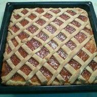 Fotografie receptu: Hrnkový mřížkový koláč