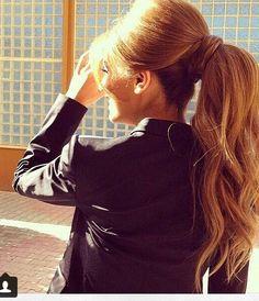 Love this ponytail!!