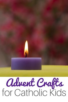 Simple Catholic Advent Crafts and Activities for Kids Advent crafts for Catholic Kids -- these are the perfect activities to explore with your family at home. You'll find everything from books to DIY gift ideas to help you celebrate this Advent and Ch Advent Catholic, Catholic Religious Education, Catholic Crafts, Catholic Kids, Church Crafts, Catholic Holidays, Catholic Catechism, Catholic School, Kids Church