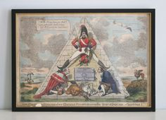 A Fine Antique c19th Hand Coloured Etching, (1828) Charles Williams, Wellington