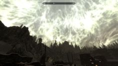 After reading a black book and returning the sky effect from Apocrypha stuck around on Solstheim. Looks pretty cool. #games #Skyrim #elderscrolls #BE3 #gaming #videogames #Concours #NGC
