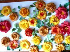 Handmade: Flori de toamna