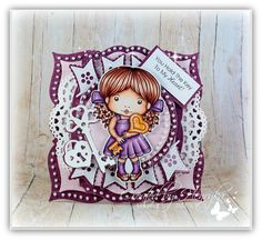 Magic Crafts by Henryka Magic Crafts, Winter Princess, Have A Lovely Weekend, Key To My Heart, Copic Markers, Card Tags, Design Crafts, Christmas Cards, Banner