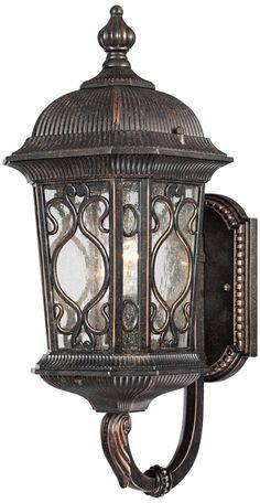 "Veranda Collection 17"" High Outdoor Wall Up-Light | LampsPlus.com"