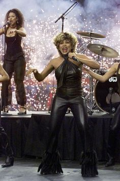 Tina Turner at Super Bowl XXXIV in 2000