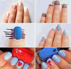 Nails Art tutorial...