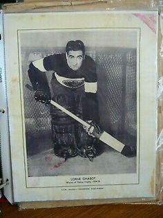 "Sponsored - 1933-34 CCM SKATES ""CHAMPIONS EVERYWHERE"" LORNE CHABOT HOCKEY PHOTO Boston Bruins Hockey, Rangers Hockey, Themed Rooms, New York Rangers, Champion, Baseball Cards, Sports, Ebay, Sport"