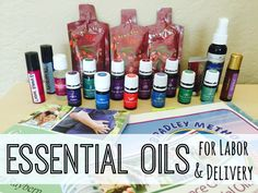 Oils for Labor & Delivery: A Natural Birth Story Essential Oils for Labor & Delivery - ChildbirthEssential Oils for Labor & Delivery - Childbirth Essential Oils For Pregnancy, Yl Essential Oils, Young Living Essential Oils, Yl Oils, Birth Affirmations, Pregnancy Labor, Pregnancy Health, Coconut Oil Uses, Tips & Tricks