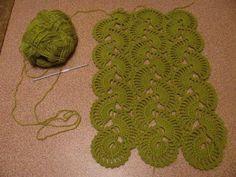 wave - crochet pattern- see chart
