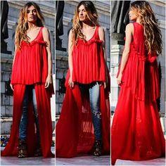Bluson rojo
