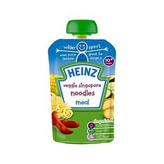 Heinz Veggie Singapore Noodle Stage 3 180g  Pack of 4 ** Learn more by visiting the image link.
