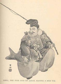 Fish stories alleged and experienced : - Biodiversity Heritage Library Buddha Kunst, Buddha Art, Asian Artwork, Japanese Mythology, Kuniyoshi, Dragon Art, Woodblock Print, Japanese Art, Character Design