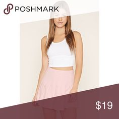 Pastel Pink Pleated Tennis Skirt NWOT. Never worn, brand new. Price is firm. No trades please. Forever 21 Skirts