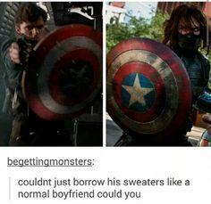 Steve and Bucky ship..