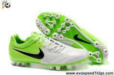 Buy Nike Total90 Laser IV AG White-ElectrGreen-Black Soccer Shoes Shop