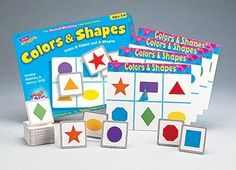 Match Me Game Colors & Shapes Ages 3 & Up 1-8 Players -- Case of 3 . $46.63. Match Me Game Colors & Shapes Ages 3 & Up 1-8 Players by TREND ENTERPRISES INC.
