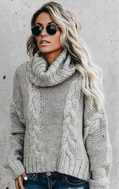 Fall Winter Outfits, Autumn Winter Fashion, Pijamas Women, Casual Outfits, Fashion Outfits, Knitwear Fashion, Crochet Clothes, Sweaters For Women, Pullover Sweaters