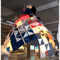 Lampshade at the World Design Capital - Helsinki, Finland exhibition at the Espoo Museum of Modern Art Museum Of Modern Art, Design Thinking, Helsinki, Cape Town, Finland, Spaces, World, Modern Art Museum, The World