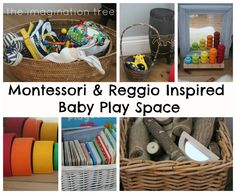 Espacio para bebés de 6-18 Meses: Inspirado en Montessori y Reggio - The Imagination Tree