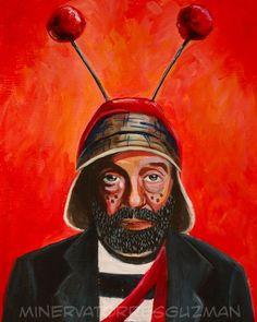 Roberto Gomez Bolanos El Chavo Del Ocho Mexican Pop Art Print - 8x10in.  via Etsy.