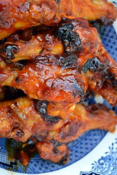 Irresistible spicy honey garlic chicken wings