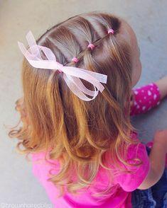 Meisjeskapsel little girl haordo. Today is little sis& last day of school fo., Meisjeskapsel little girl haordo. Today is little sis& last day of school fo. Meisjeskapsel little girl haordo. Today is little sis& last da. Girls Hairdos, Baby Girl Hairstyles, Down Hairstyles, Cute Hairstyles, Kids Hairstyle, Teenage Hairstyles, Natural Hairstyles, Hairstyle Ideas, Easy Toddler Hairstyles