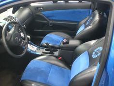 More of a Tiffany blue instead? Scion TC interior