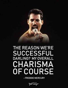 40 Best Freddie Mercury Quotes 038 Queen Song Lyrics Of All Time 40 Best Freddie Mercury Quotes 038 Queen Song Lyrics Of All Time Britta Rohmann Save Images Britta Rohmann The reason we re successful darling My overall charisma of course F Band Quotes, Song Lyric Quotes, Music Quotes, Song Lyrics, Quotes Quotes, Song Lyric Tattoos, Queen Freddie Mercury, Freddie Mercury Songs, You Smile
