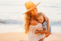 Sunset Mommy and Me Session at Electric Beach, Kapolei - Oahu, Hawaii Maternity Photographer Family Beach Pictures, Beach Pics, Beach Shoot, Sunset Photography, Photography Poses, Lifestyle Photography, Maternity Photographer, Family Photographer, 6 Month Baby Picture Ideas Boy