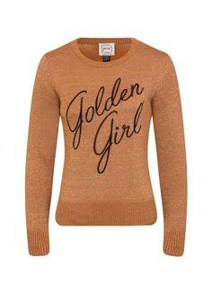 Vega Golden Girl Slogan Jumper